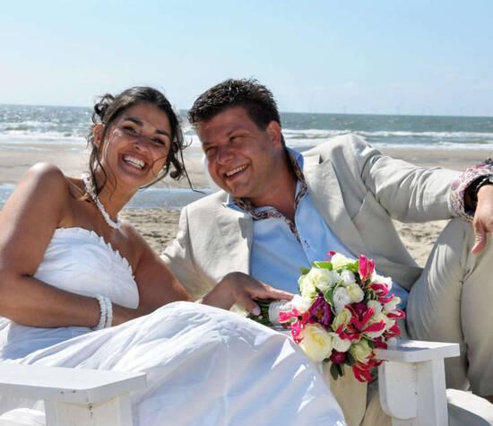 2 Lovers Wedding strandbruiloft M&P