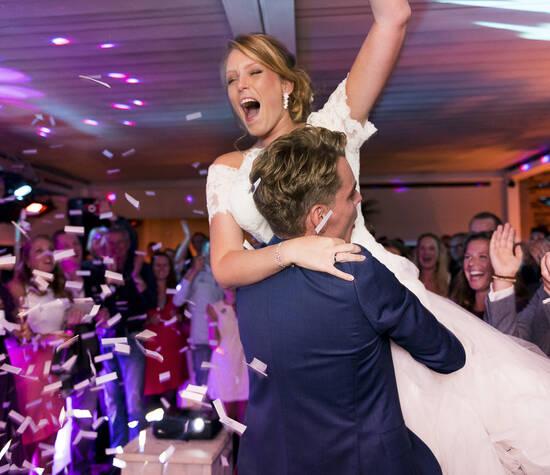 Samen, met volle passie, organiseren wij de mooiste trouwfeesten waarbij jullie terug kunnen kijken op een onvergetelijke feest en een mooie herinnering!