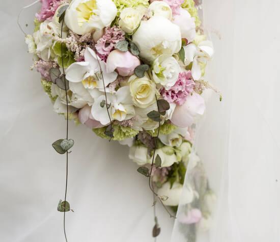 Bruidsboeket - Bloemstyliste Heleen