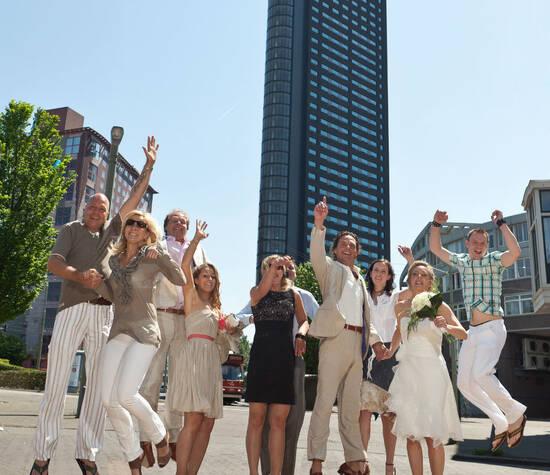 Trouwen ín de Haagse Toren, of kom samen voor een onvergetelijk diner.