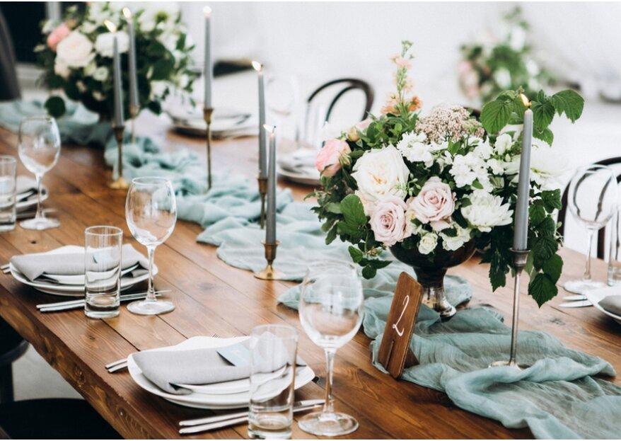 In 5 stappen: hoe kies ik het menu voor mijn bruiloft