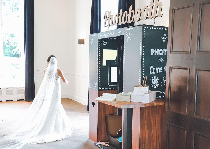 Een photobooth op de bruiloft? Dit zijn de leukste van Nederland!