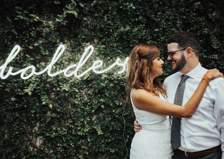 Bruiloftdecoratie met neondetails: zo gebruik je het op je bruiloft!