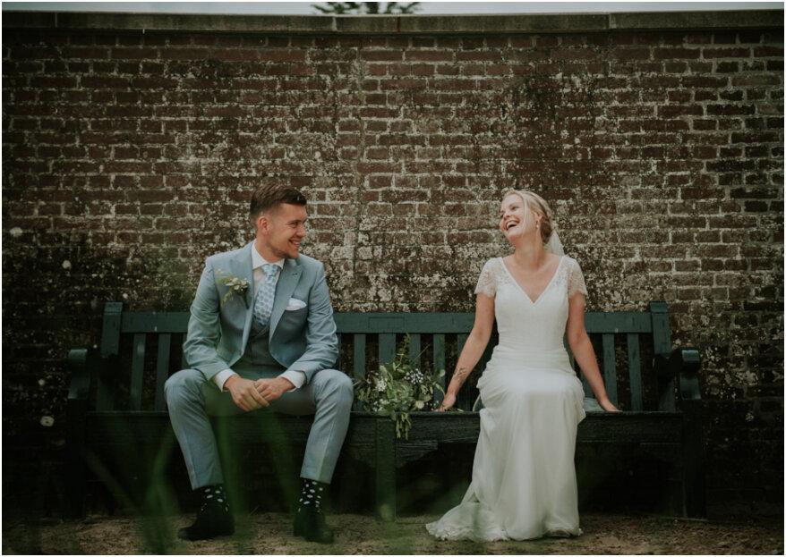De landelijke bruiloft van Mirte en Robin