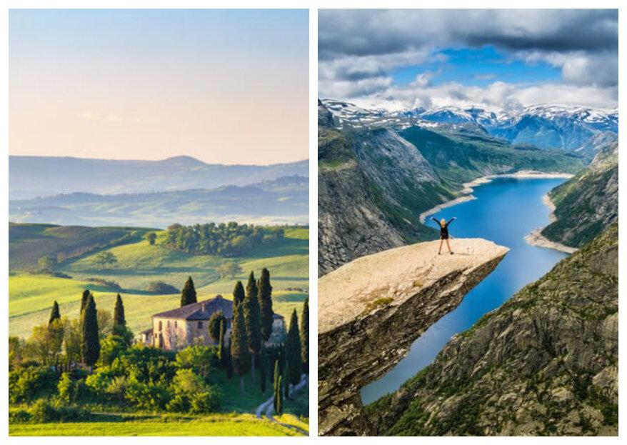 Op huwelijksreis door Europa? Deze plekken mag je absoluut niet missen!