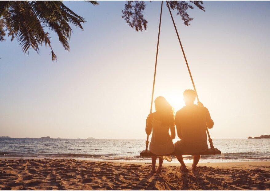 8 adviezen om jullie huwelijksreis perfect te maken (en het huwelijk dus goed te beginnen!)