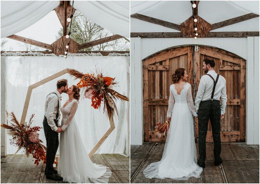 Rustic Barn Wedding Shoot