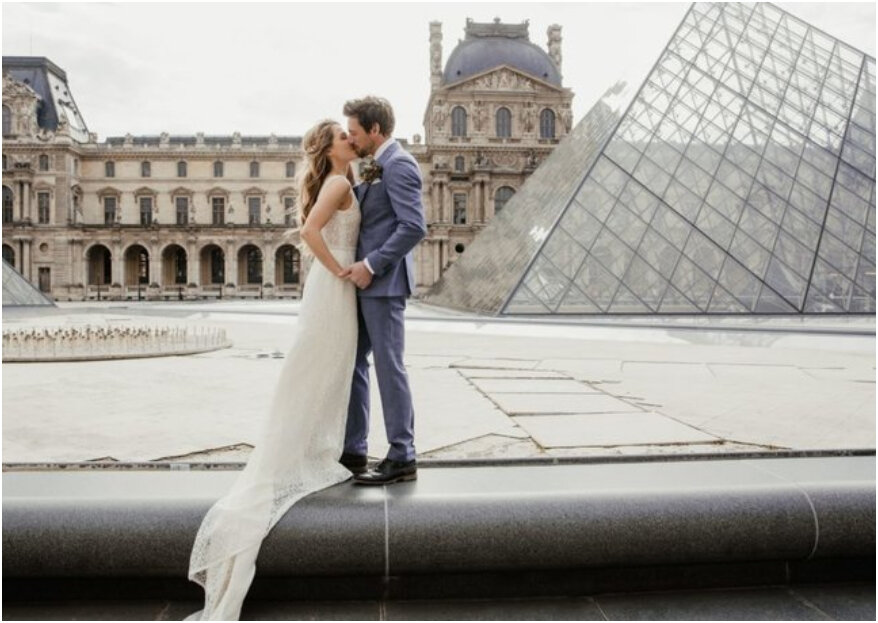 Destination Wedding Shoot in Paris, Ville d'amour