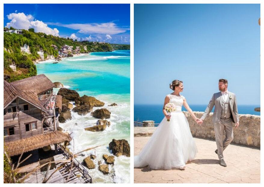 Zó kies je een bestemming voor jullie huwelijksreis!