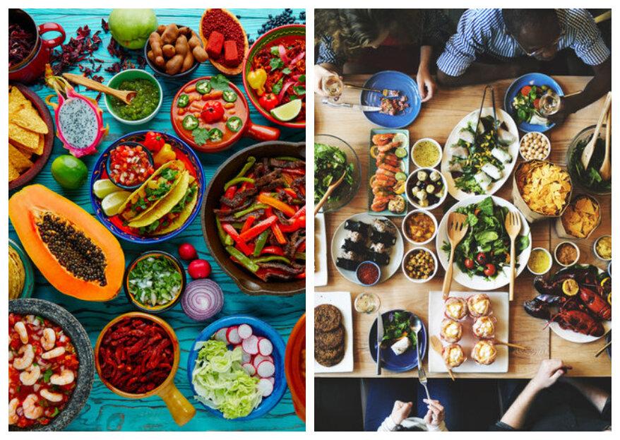 Gastronomische huwelijksreis: kies de bestemming op basis van de keuken!