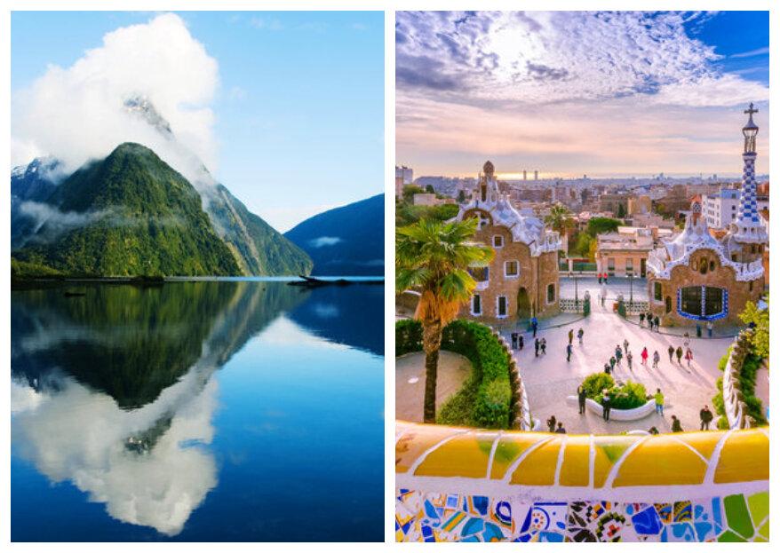 Ontdek waar je het beste naartoe kunt reizen in de maand van jouw huwelijksreis!