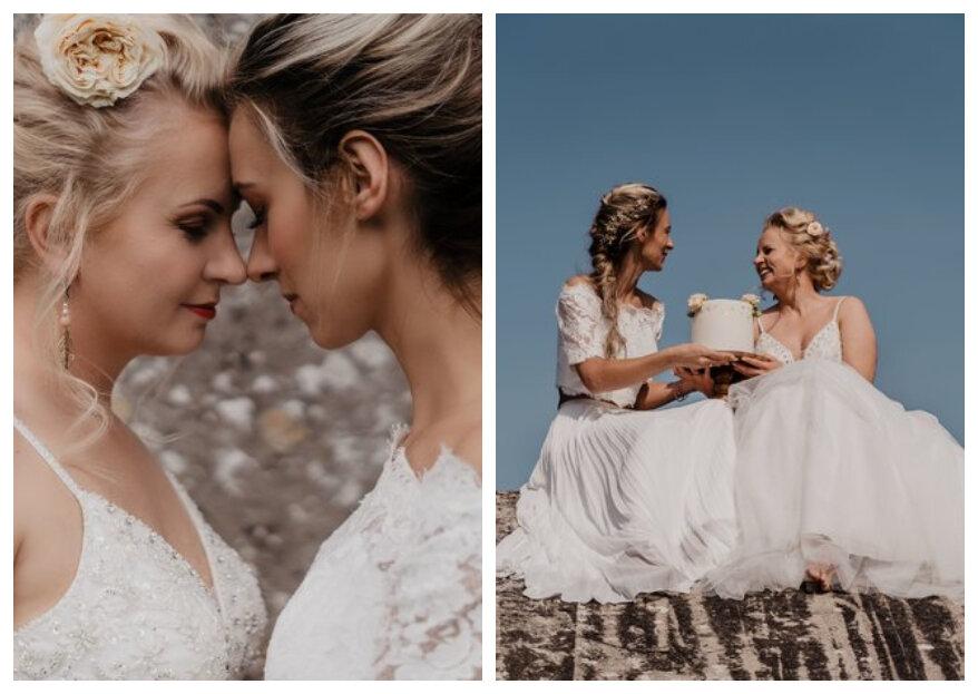 Styled Wedding Shoot: Watch Golden Girls