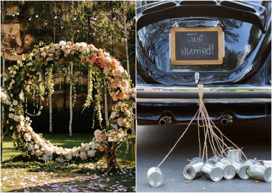 De aankomst van het bruidspaar - 5 stappen voor een onvergetelijke entree!