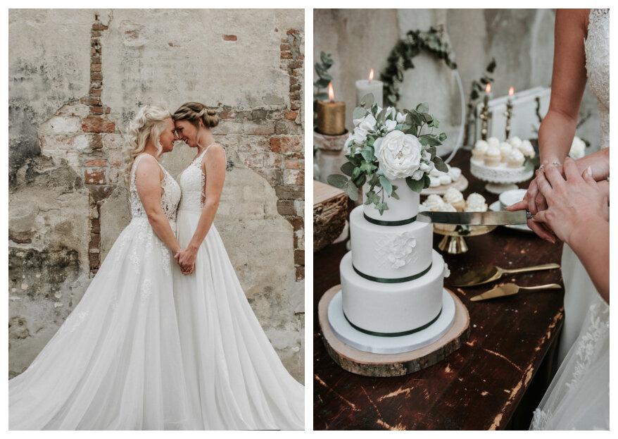Styled Wedding Shoot: Eucalyptus Wedding