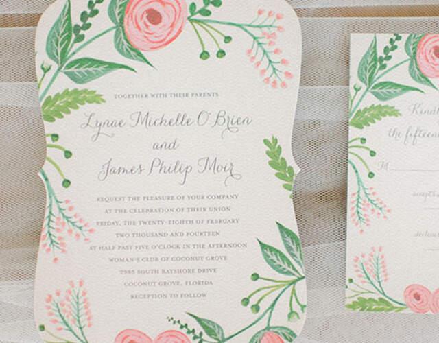 Uitnodigingen en stationery voor jullie bruiloft in Overijssel