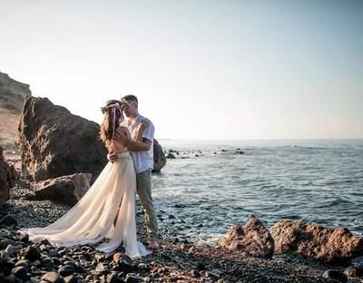 Heiraten auf Santorini